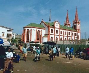 Cathédrale de Lomé Crédit: tg.worldmapz.com