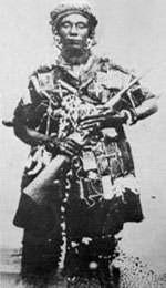 La YAA Asantewa, légendaire femme au fusil Crédit: www.black-feelings.com