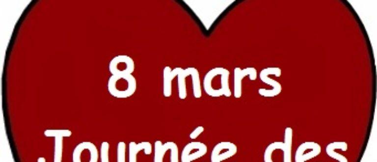 Article : 08 Mars. Deux trois choses à vous dire, mesdames