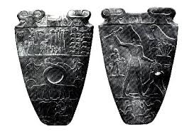 La Sématawoui, Palette de Narmer - Crédit: www.toutankharton.com