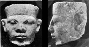 Tete de Narmer-Menès - Crédit: diasporicroots.tumblr.com