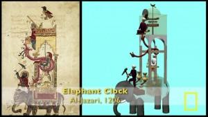 L'horloge de l'éléphant - Crédit d'image: https://www.youtube.com/watch?v=879kqbx9rqc