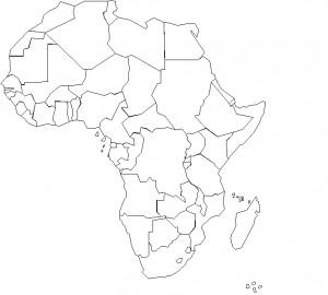 Les frontières actuelles - fragmentaires, inertes