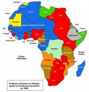 Les territoires africains au sortir de la conférence de Berlin - Jusqu'aujourd'hui, rien n'a changé, rien n'a bougé.