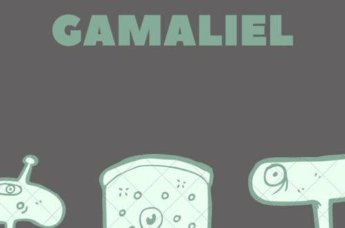 Article : Textes Confinés : Gamaliel